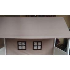 Jumtiņš gultiņai - mājiņai
