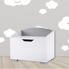 Rotaļlietu kaste - balta