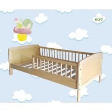 Priedes koka bērnu gulta 140*70 cm